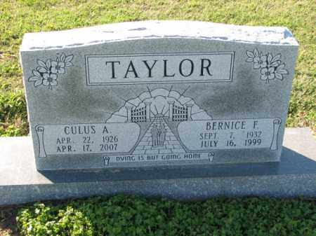 TAYLOR, BERNICE F. - Poinsett County, Arkansas | BERNICE F. TAYLOR - Arkansas Gravestone Photos