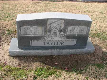 TAYLOR, ESTELLA - Poinsett County, Arkansas   ESTELLA TAYLOR - Arkansas Gravestone Photos