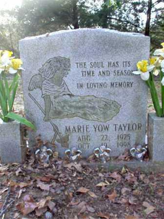 YOW TAYLOR, MARIE - Poinsett County, Arkansas | MARIE YOW TAYLOR - Arkansas Gravestone Photos