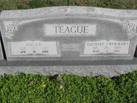 TEAGUE, DAPHINE - Poinsett County, Arkansas | DAPHINE TEAGUE - Arkansas Gravestone Photos
