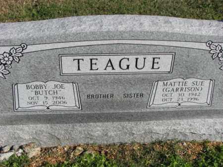 GARRISON TEAGUE, MATTIE SUE - Poinsett County, Arkansas | MATTIE SUE GARRISON TEAGUE - Arkansas Gravestone Photos