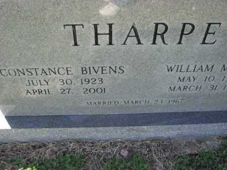 BIVENS THARPE, CONSTANCE - Poinsett County, Arkansas | CONSTANCE BIVENS THARPE - Arkansas Gravestone Photos