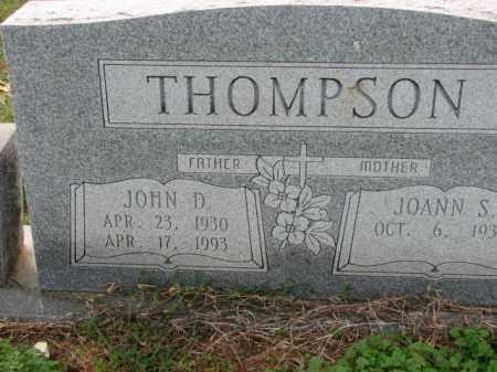 THOMPSON, JOHN D. - Poinsett County, Arkansas   JOHN D. THOMPSON - Arkansas Gravestone Photos
