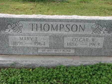 THOMPSON, OSCAR W. - Poinsett County, Arkansas | OSCAR W. THOMPSON - Arkansas Gravestone Photos