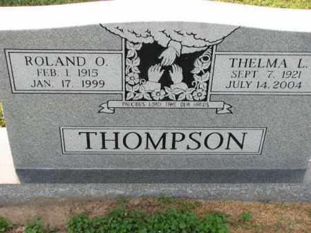 THOMPSON, ROLAND O. - Poinsett County, Arkansas | ROLAND O. THOMPSON - Arkansas Gravestone Photos