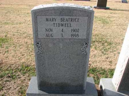 TIDWELL, MARY BEATRICE - Poinsett County, Arkansas | MARY BEATRICE TIDWELL - Arkansas Gravestone Photos