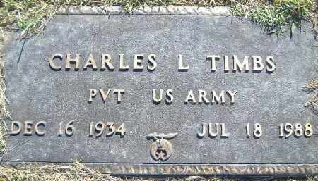 TIMBS  (VETERAN), CHARLES L. - Poinsett County, Arkansas   CHARLES L. TIMBS  (VETERAN) - Arkansas Gravestone Photos