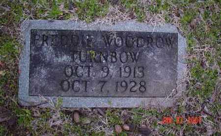 TURNBOW, FREDDIE WOODROW - Poinsett County, Arkansas | FREDDIE WOODROW TURNBOW - Arkansas Gravestone Photos