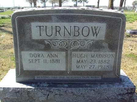 TURNBOW, HUGH MADISON - Poinsett County, Arkansas   HUGH MADISON TURNBOW - Arkansas Gravestone Photos