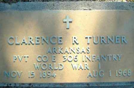 TURNER  (VETERAN WWI), CLARENCE R. - Poinsett County, Arkansas   CLARENCE R. TURNER  (VETERAN WWI) - Arkansas Gravestone Photos