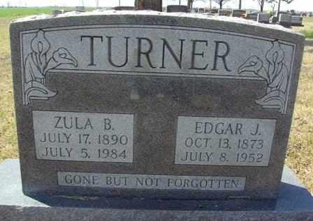 TURNER, ZULA B. - Poinsett County, Arkansas | ZULA B. TURNER - Arkansas Gravestone Photos