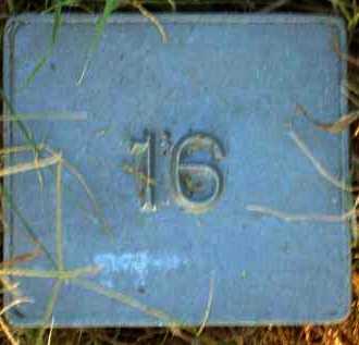UNKNOWN, MARKER #16 - Poinsett County, Arkansas   MARKER #16 UNKNOWN - Arkansas Gravestone Photos