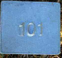 UNKNOWN, MARKER #101 - Poinsett County, Arkansas | MARKER #101 UNKNOWN - Arkansas Gravestone Photos