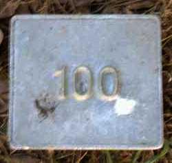 UNKNOWN, MARKER #100 - Poinsett County, Arkansas | MARKER #100 UNKNOWN - Arkansas Gravestone Photos