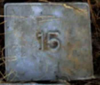 UNKNOWN, MARKER #15 - Poinsett County, Arkansas | MARKER #15 UNKNOWN - Arkansas Gravestone Photos