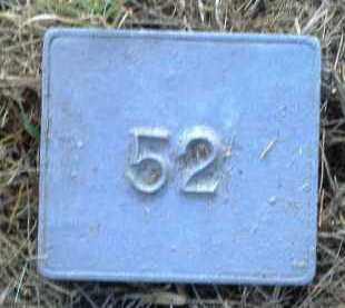 UNKNOWN, MARKER #52 - Poinsett County, Arkansas   MARKER #52 UNKNOWN - Arkansas Gravestone Photos