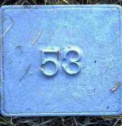 UNKNOWN, MARKER #53 - Poinsett County, Arkansas | MARKER #53 UNKNOWN - Arkansas Gravestone Photos