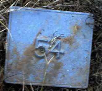 UNKNOWN, MARKER #54 - Poinsett County, Arkansas | MARKER #54 UNKNOWN - Arkansas Gravestone Photos