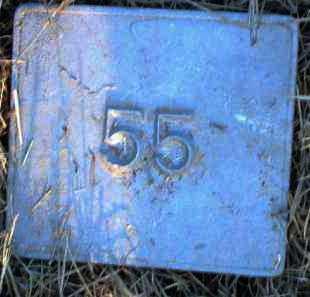UNKNOWN, MARKER #55 - Poinsett County, Arkansas | MARKER #55 UNKNOWN - Arkansas Gravestone Photos
