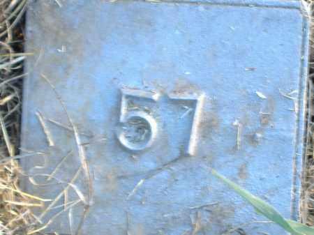 UNKNOWN, MARKER #57 - Poinsett County, Arkansas | MARKER #57 UNKNOWN - Arkansas Gravestone Photos