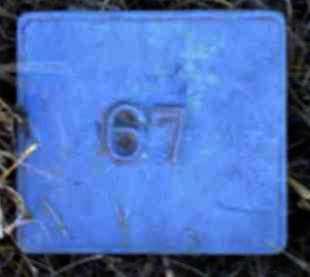 UNKNOWN, MARKER #67 - Poinsett County, Arkansas | MARKER #67 UNKNOWN - Arkansas Gravestone Photos