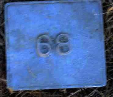 UNKNOWN, MARKER #68 - Poinsett County, Arkansas | MARKER #68 UNKNOWN - Arkansas Gravestone Photos