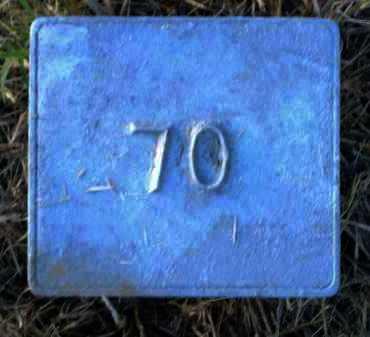 UNKNOWN, MARKER # 70 - Poinsett County, Arkansas   MARKER # 70 UNKNOWN - Arkansas Gravestone Photos