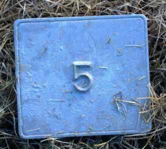 UNKNOWN, MARKER #5 - Poinsett County, Arkansas | MARKER #5 UNKNOWN - Arkansas Gravestone Photos