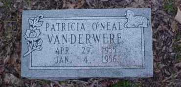 VANDERWERE, PATRICIA O'NEAL - Poinsett County, Arkansas   PATRICIA O'NEAL VANDERWERE - Arkansas Gravestone Photos