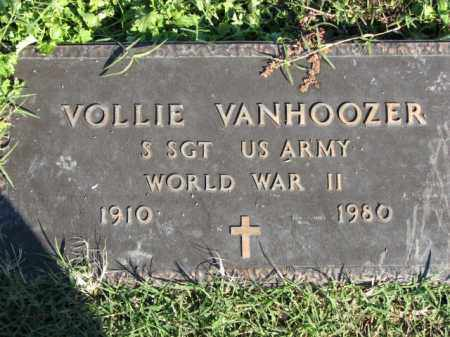 VANHOOZER (VETERAN WWII), VOLLIE - Poinsett County, Arkansas   VOLLIE VANHOOZER (VETERAN WWII) - Arkansas Gravestone Photos