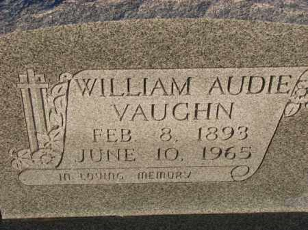 VAUGHN, WILLIAM AUDIE - Poinsett County, Arkansas   WILLIAM AUDIE VAUGHN - Arkansas Gravestone Photos