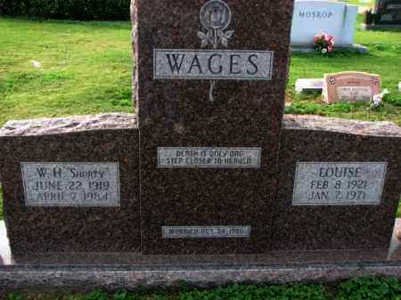 "WAGES, W. H. ""SHORTY"" - Poinsett County, Arkansas 