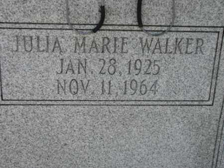 WALKER, JULIA MARIE - Poinsett County, Arkansas | JULIA MARIE WALKER - Arkansas Gravestone Photos