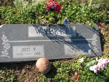 WALKER, JILES R. - Poinsett County, Arkansas | JILES R. WALKER - Arkansas Gravestone Photos