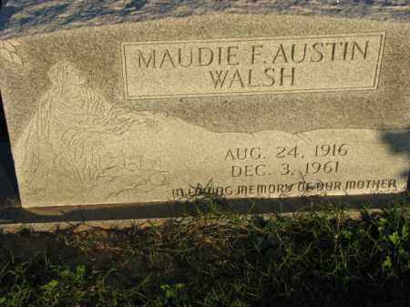 AUSTIN WALSH, MAUDIE F. - Poinsett County, Arkansas | MAUDIE F. AUSTIN WALSH - Arkansas Gravestone Photos