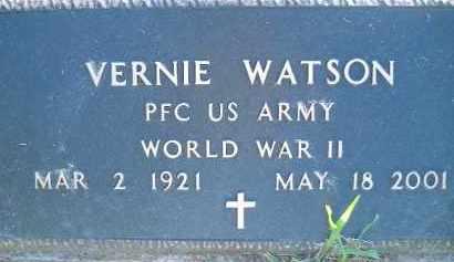 WATSON  (VETERAN WWII), VERNIE - Poinsett County, Arkansas | VERNIE WATSON  (VETERAN WWII) - Arkansas Gravestone Photos