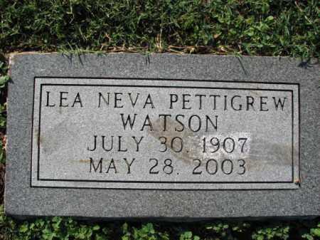 WATSON, LEA NEVA - Poinsett County, Arkansas | LEA NEVA WATSON - Arkansas Gravestone Photos
