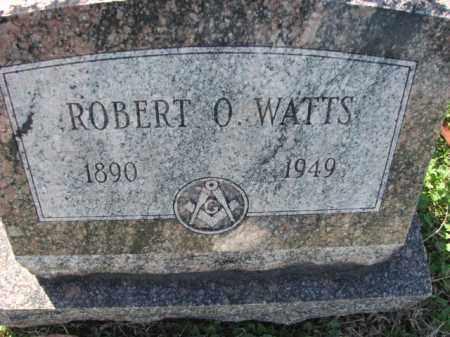 WATTS, ROBERT O. - Poinsett County, Arkansas | ROBERT O. WATTS - Arkansas Gravestone Photos