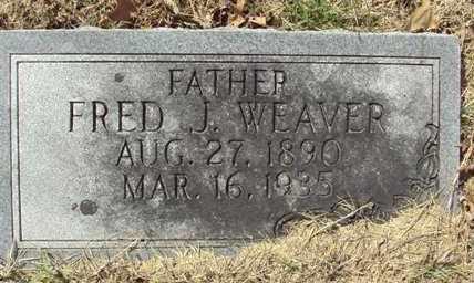 WEAVER, FRED J. - Poinsett County, Arkansas   FRED J. WEAVER - Arkansas Gravestone Photos