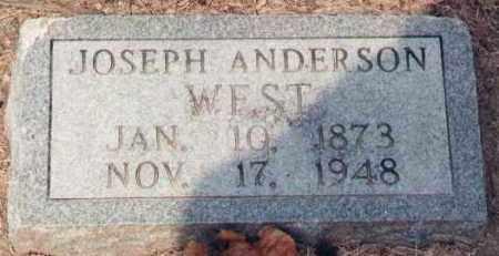 "WEST, ""J.A."" JOSEPH ANDERSON - Poinsett County, Arkansas | ""J.A."" JOSEPH ANDERSON WEST - Arkansas Gravestone Photos"