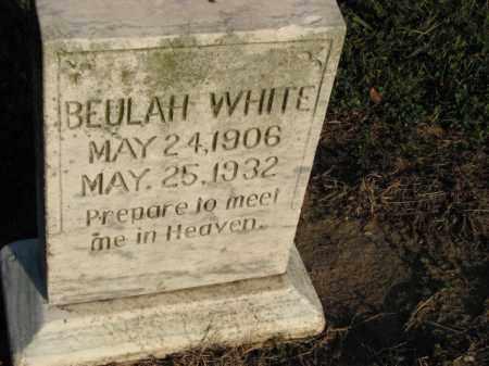 WHITE, BEULAH - Poinsett County, Arkansas | BEULAH WHITE - Arkansas Gravestone Photos