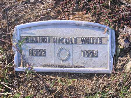 WHITE, BRANDI NICOLE - Poinsett County, Arkansas   BRANDI NICOLE WHITE - Arkansas Gravestone Photos