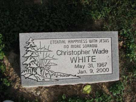 WHITE, CHRISTOPHER WADE - Poinsett County, Arkansas | CHRISTOPHER WADE WHITE - Arkansas Gravestone Photos