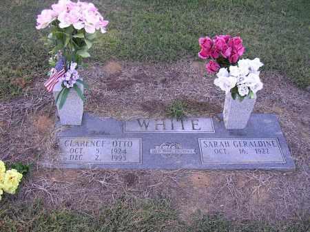 WHITE, CLARENCE OTTO - Poinsett County, Arkansas | CLARENCE OTTO WHITE - Arkansas Gravestone Photos