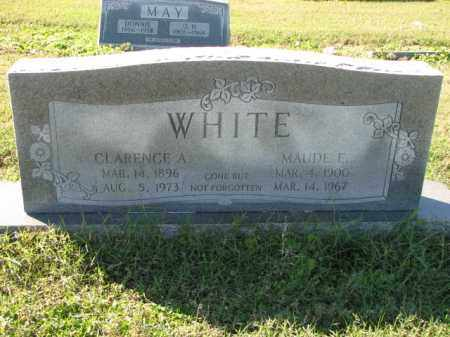 WHITE, CLARENCE A. - Poinsett County, Arkansas   CLARENCE A. WHITE - Arkansas Gravestone Photos