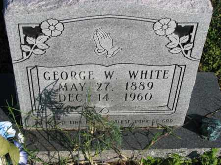 WHITE, GEORGE W. - Poinsett County, Arkansas | GEORGE W. WHITE - Arkansas Gravestone Photos