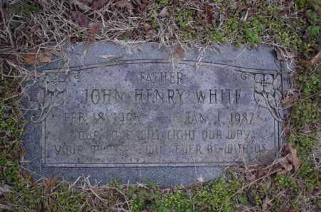 WHITE, JOHN HENRY - Poinsett County, Arkansas | JOHN HENRY WHITE - Arkansas Gravestone Photos