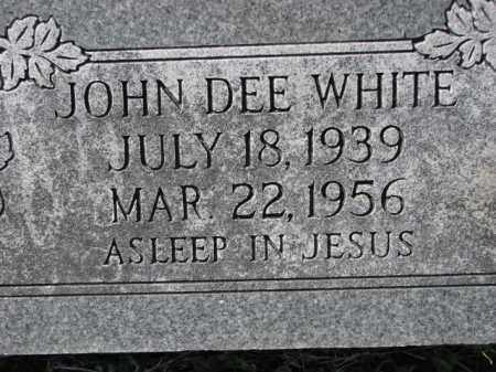 WHITE, JOHN DEE - Poinsett County, Arkansas | JOHN DEE WHITE - Arkansas Gravestone Photos