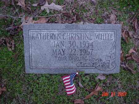 WHITE, KATHERYN CHRISTINE - Poinsett County, Arkansas | KATHERYN CHRISTINE WHITE - Arkansas Gravestone Photos