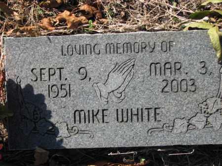 WHITE, MIKE - Poinsett County, Arkansas   MIKE WHITE - Arkansas Gravestone Photos